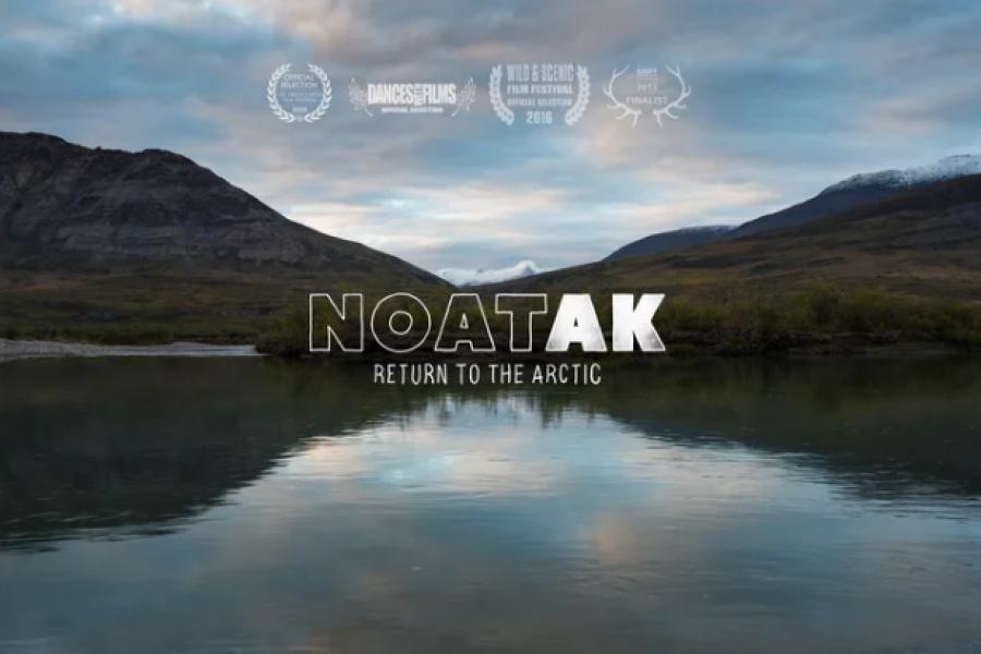 NOATAK : Deux septuagénaires explorent l'Arctique en canot