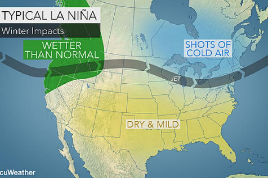 La Nina: Les prévisions de neige pour le Québec et les Chic Chocs