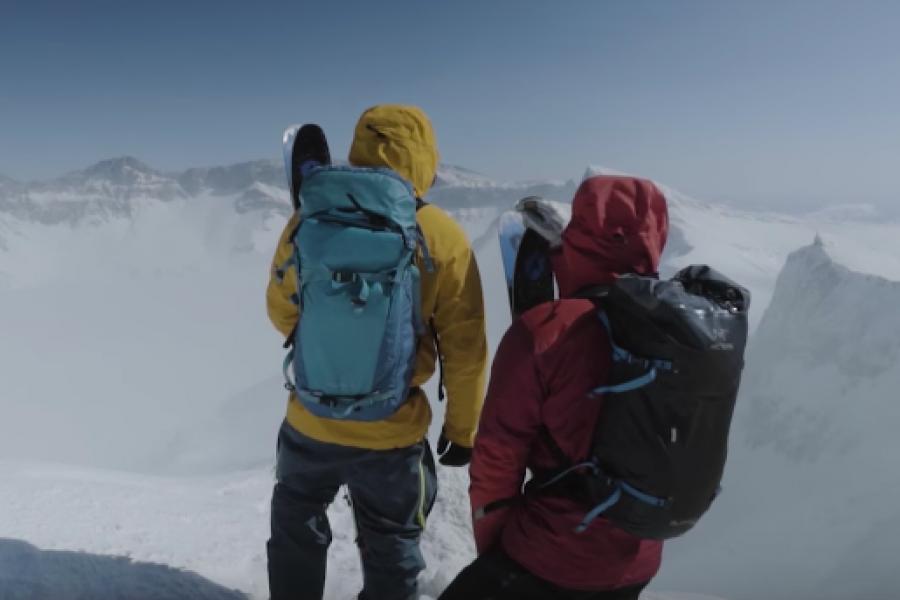 A skier's journey: Une série sur le ski-voyage signée Arc'teryx