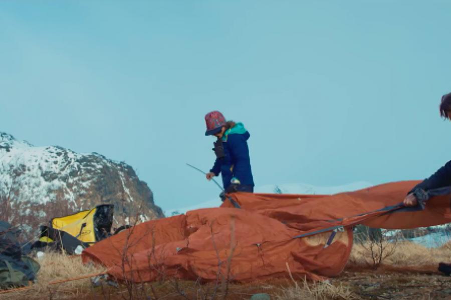 Pédaler les sommets de Norvège