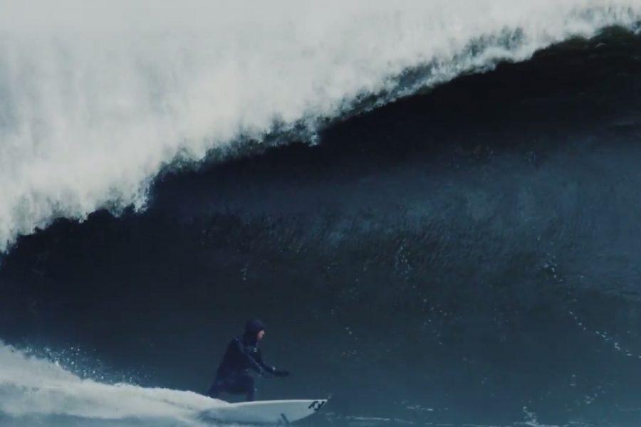 Le surf sur la côte Est, parfois c'est gros… très gros !