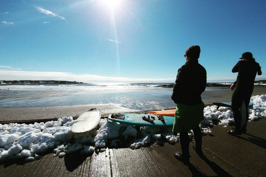 Le surf en hiver, c'est génial mais…