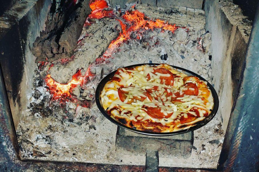 Cuisine plein air : Les saveurs de l'Italie dans le refuge