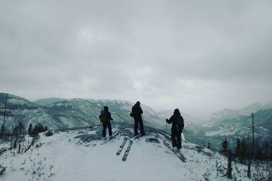 Ski/Splitboard hors-piste: On explore les montagnes de Charlevoix