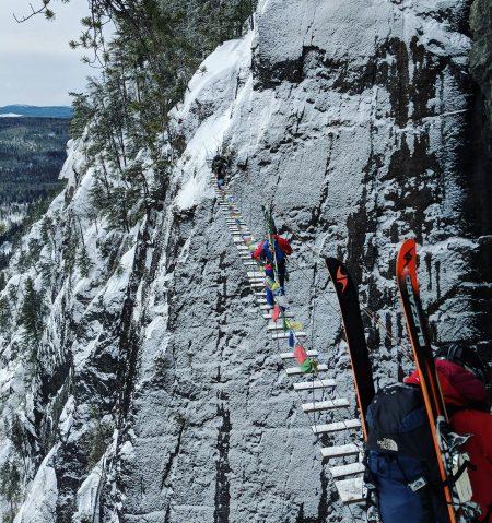 Les Palissades de Charlevoix: là où le ski hors-piste rencontre le ski d'alpinisme