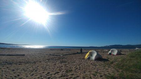 Le camping de plage: Les pours et les contres !!!