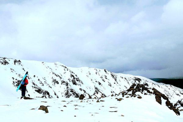 Photographie – Le ski en Gaspésie