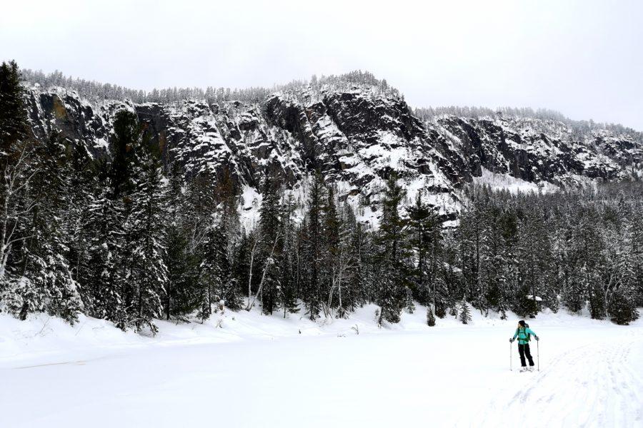 Ski backcountry aux Palissades de Charlevoix: Solitude à l'état sauvage