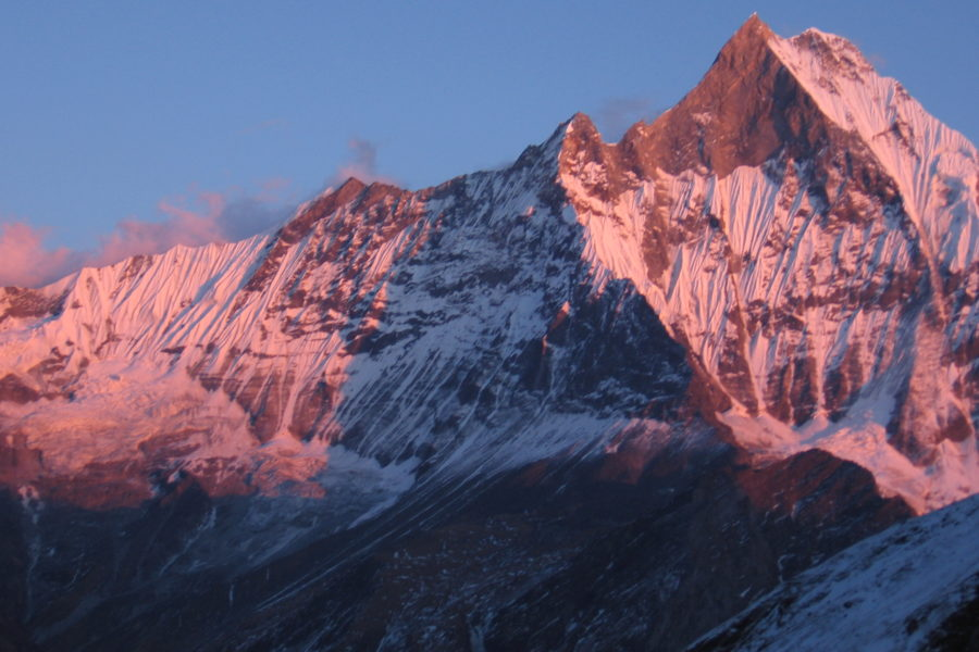 La longue randonnée au Népal