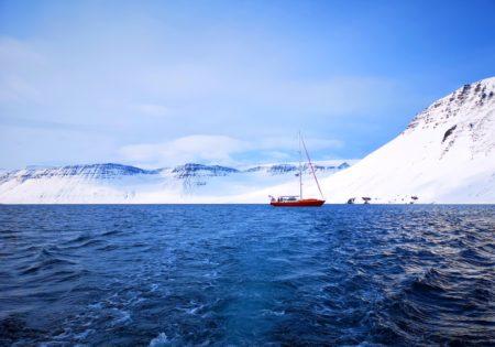 Naviguer et skier le Nord de l'Islande