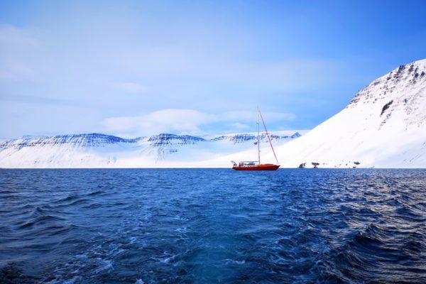 Photographie – Skier l'Islande à la voile