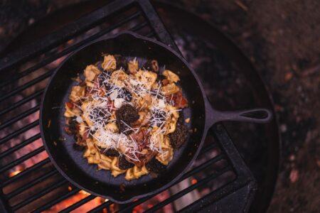 Cuisiner la forêt dans la forêt !