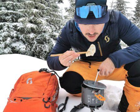 Cuisson de dumplings au réchaud !
