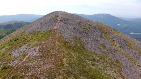 La Crête du Mont Vallières à Vélo